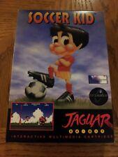 Soccer Kid Atari Jaguar Game Complete w/ Box & Manual