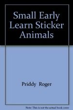 Small Early Learn Sticker Animals, New Books