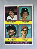 1976 Topps #599 Rookie Pitchers Ron Guidry RC Rookie Card~EX-MT/NM~Yankees