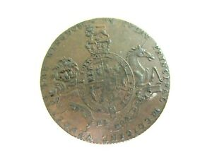 COPPER TRADE TOKEN - I CHING - WORMING TABLETS - Circa 1780