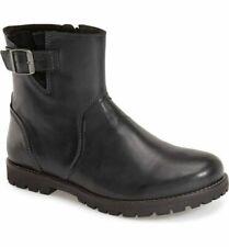NEW Birkenstock Stowe Women's Black Leather Boots - Size 37/US 6 - 6.5