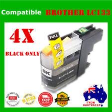 4x Black Ink Cartridge LC133XL LC133 XL 131 For Brother J6920DW J6520DW J6720DW