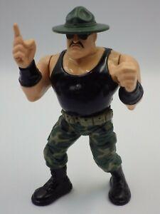 Figurines Vintage Wrestling Sergeant Slaughter Wwe Wwf Hasbro 1991 Titan Sports