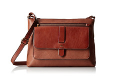 Fossil Women's Small Kinley Crossbody Leather Cross Body Bag Satchel ~ NWT