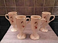 HALL AUTUMN LEAF FOOTED EXPRESSO CUPS
