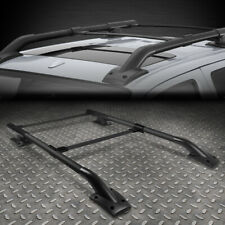 FOR 05-17 FRONTIER D40 BLACK OE STYLE ROOF RACK/RAIL CROSSBAR LUGGAGE CARRIER