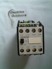 SIEMENS CONTACTOR 4 kW 400/380V 2S+2O/2NO+2NC 3TF40 22-0B
