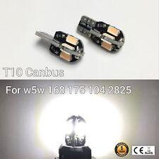 T10 W5W 194 168 2825 175 License Plate Light WHITE 8 Canbus LED M1 For Chevrolet