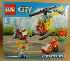 LEGO CITY Post Office Mail Workers Airport Helicopter Set 60100 Royal New !