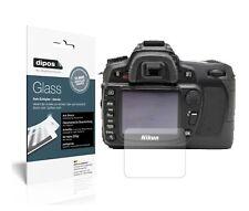 2x Folie für Nikon D80 Schutzfolie matt - Anti-Shock 9H Glass Kunststoffglas