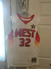 Shaquille O'Neal NBA 2009 All Star West Mitchell & Ness Men's Swingman Jersey