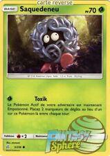 Pokemon - Saquedeneu - reverse - 5/236 SL12 - VF Français