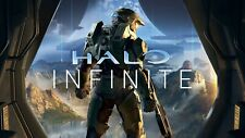Halo Infinite Poster A4 A3 A2 A1 A0 Gift Present SS0386