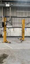 2.5 Ton 2 Post Car Commercial Vehicle Lift Ramp Garage Workshop Baseless