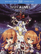 Date A Live II: Season Two (Blu-ray + DVD Combo, 2016, 4-Disc Set w/ Slip Cover)