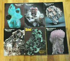THE MINERALOGICAL RECORD  1981 Vol. 12 6 issues the complete year