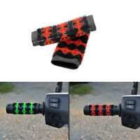 Universal Motorcycle Handle Bar Hand Grips Gel Non Slip Handlebar Accessories