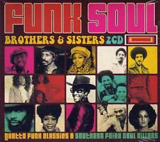 FUNK SOUL BROTHERS & SISTERS - VARIOUS ARTISTS (NEW SEALED 2CD)