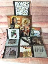 Lot of Led Zeppelin 8 CD Albums CDs collection with book by Jon Bream