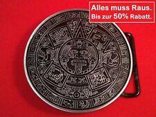 Neu Okkult Buckle 50% Reduziert Azteken Kalender Inka Gürtelschnalle Massiv TOP