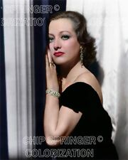 JOAN CRAWFORD STARRING IN POSSESSED BEAUTIFUL COLOR PHOTO BY CHIP SPRINGER