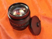 YASHICA LENS ML 50MM 1.4 NO.A106490 FOR YASHICA CONTAX MOUNT