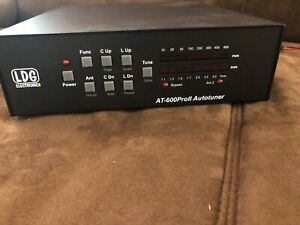LDG AT-600ProII 600W Tuner w/ ICOM cable - No Reserve Price