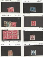 Kappysstamps 133-30 Usa 1900-1940 - 8 Lots - See Scans - Mnh/Mh All Sound