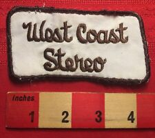Vintage WEST SIDE STEREO Advertising Patch ~ ? Car Audio ? Stockton CA ? 67FF