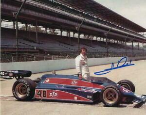 Mario Andretti Autographed Signed 8x10 Photo ( HOF ) REPRINT ,