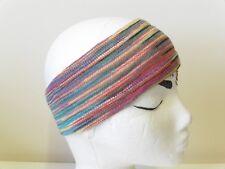 ** Fair Trade ** FABULOUS! Nepalese Striped Hippy Headband Multi Colour (SHB40)
