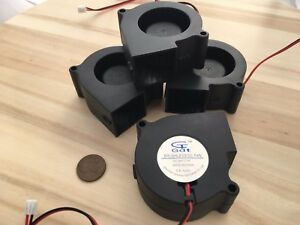 4 Pieces 60mm 24v fan Brushless Exhaust Centrifugal Blower 6028 Gdstime C36