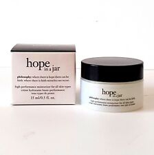 PHILOSOPHY HOPE IN A JAR HIGH-PERFORMANCE 0.5 oz SEALED IN BOX