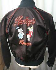 PORKY'S REVENGE Satin Film Crew Jacket 1985 XS
