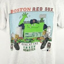 Boston Red Sox T Shirt Vintage 90s 1992 The Green Monster Made In USA Size Large