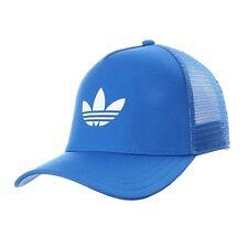 NWT adidas Originals Unisex TREFOIL TRUCKER  SNAPBACK  HAT/CAP BLUE  OSFM  1AVL