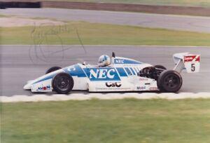 Gary Brabham original period signed professional photo - F3 Ralt RT32 VW 1988