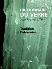 Dictionnaire du verre, Dictionary of glass, French book