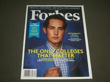 2012 AUGUST 20 FORBES MAGAZINE - KEVIN STORM COVER - INSTAGRAM - PB 1391