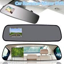 "2.4"" Car Driving DVR Video Camera Rearview Mirror Color LCD Digital Cam Recorder"
