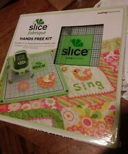 "NEW SLICE FABRIQUE HANDS FREE KIT 12"" X 12"" DOUBLE SIDED MAT AND MAGNETIC COLLAR"
