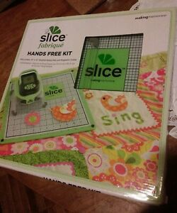 """NEW SLICE FABRIQUE HANDS FREE KIT 12"""" X 12"""" DOUBLE SIDED MAT AND MAGNETIC COLLAR"""