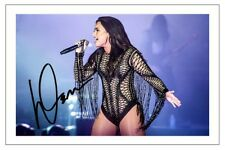 DEMI LOVATO SIGNED PHOTO PRINT AUTOGRAPH TELL ME YOU LOVE ME