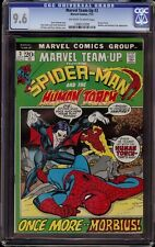 Marvel Team Up # 3 CGC 9.6 OW/White (Marvel, 1972) Morbius and Human Torch