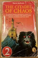 The Citadel of Chaos ***FIRST EDITION*** Fighting Fantasy Steve Jackson Puffin