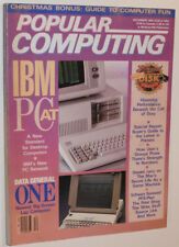VINTAGE DEC 1984 MAGAZINE! INTRODUCING THE IBM PC AT! $3995! SPECS! PICS! ADS! +