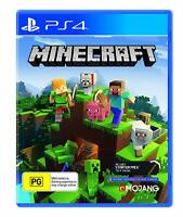 Minecraft Bedrock Edition Crafting Sony PS4 Adventure Creative Game Playstation4