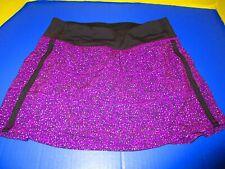 Lululemon Run: Pace Setter Skirt Skort Purple Stretch Size 4 tall