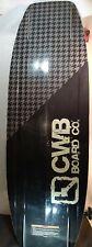 New listing CWB BOARD CO. FANTOM 144CM black WAKEBOARD & BOOTS xl