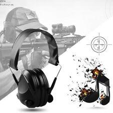 Tactical Anti-Noise Electronic Earmuff Fold Ear Earmuffs headphone 21SNR 287D
